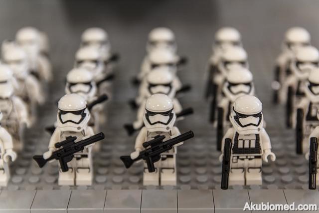 LEGO MOC perhimpunan First Order