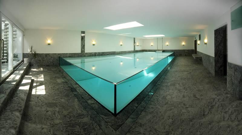 Indoor pool einfamilienhaus  Bilderserie zu Schwimmbau-Projekten im Indoor Pool und Wellness ...