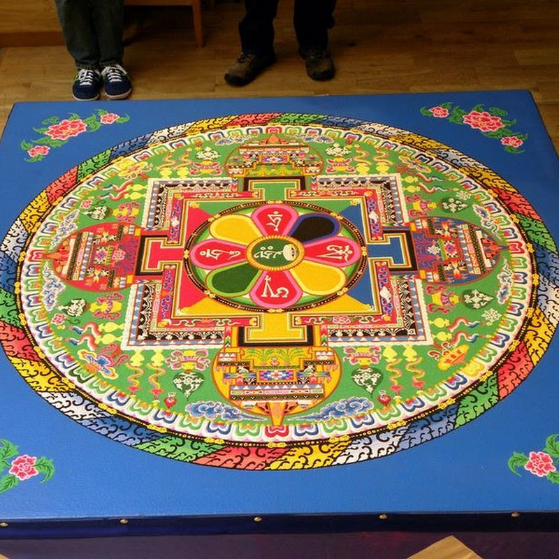 Sand Mandala: The Tibetan Art of Intricate Sand Paintings