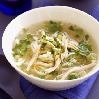 Chicken and Cilantro Noodle Soup