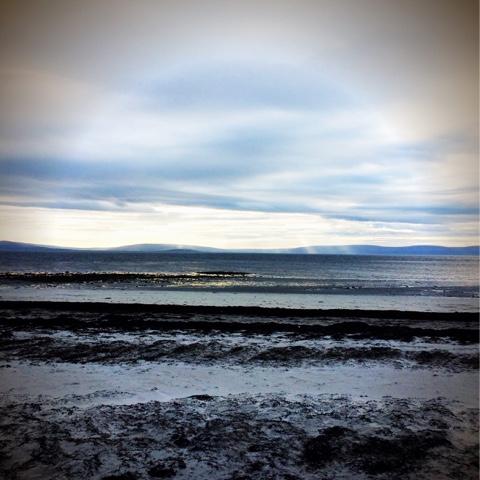 Salthill Galway Beach Scene