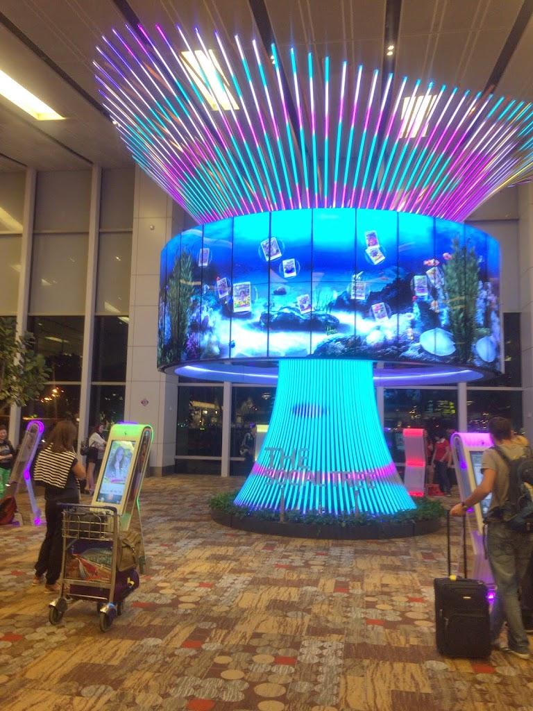 シンガポール現地での過ごし方:シンガポール・チャンギ国際空港(Singapore Changi Airport)
