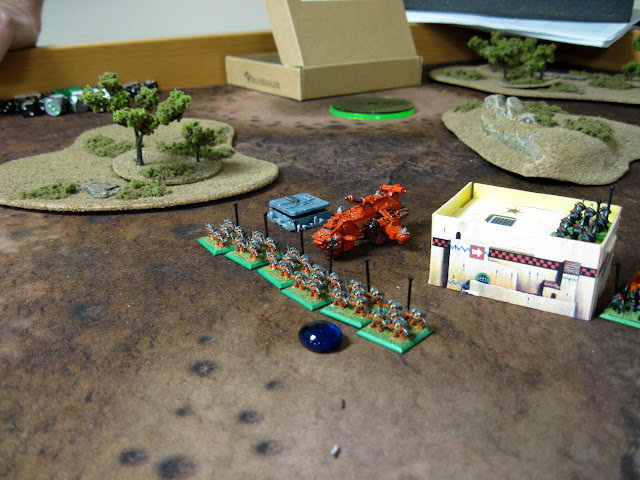 Chris's THawk lands to grab an objective.