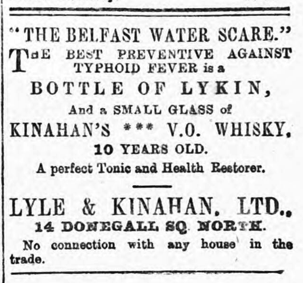 Kinahan Water Scare 1907