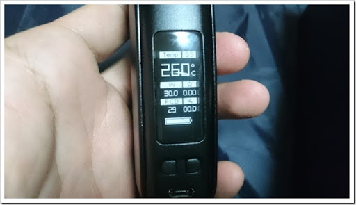 DSC 1860 thumb%25255B3%25255D - 【MOD】Wismec Presa 100W TC Box Modレビュー!18650と26650両方が使える二刀流Mod!