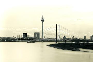 Düsseldorf in Black and White