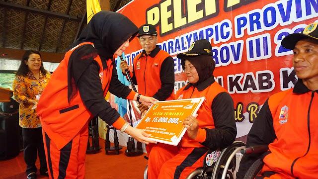 Atlet NPC Klaten Ikuti Pekan Paralympic Jateng III di Solo