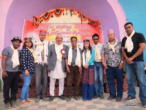 औधोगिक शान्ति नेपालद्वारा तामाङ घेदुङ संघको भवन निर्माणार्थ ३ लाख सहयोग