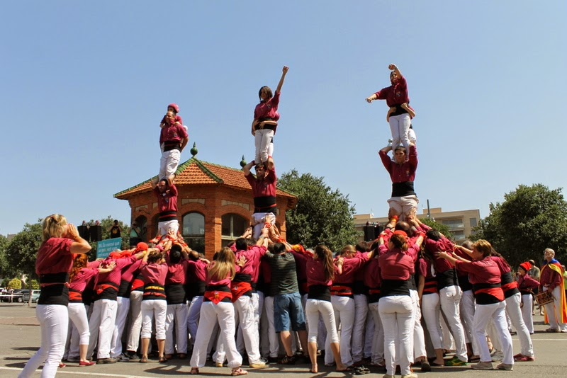 Castells Catalans Want to vote 8-06-14 - IMG_1909.JPG