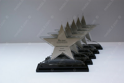 Star-Shaped Acrylic trophy by Absi co