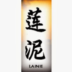 lainie - L Chinese Names Designs
