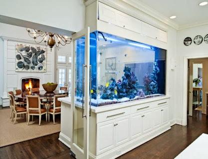 aquarium ideen designs integrieren. Black Bedroom Furniture Sets. Home Design Ideas