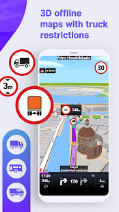 Sygic Truck GPS Navigation мод