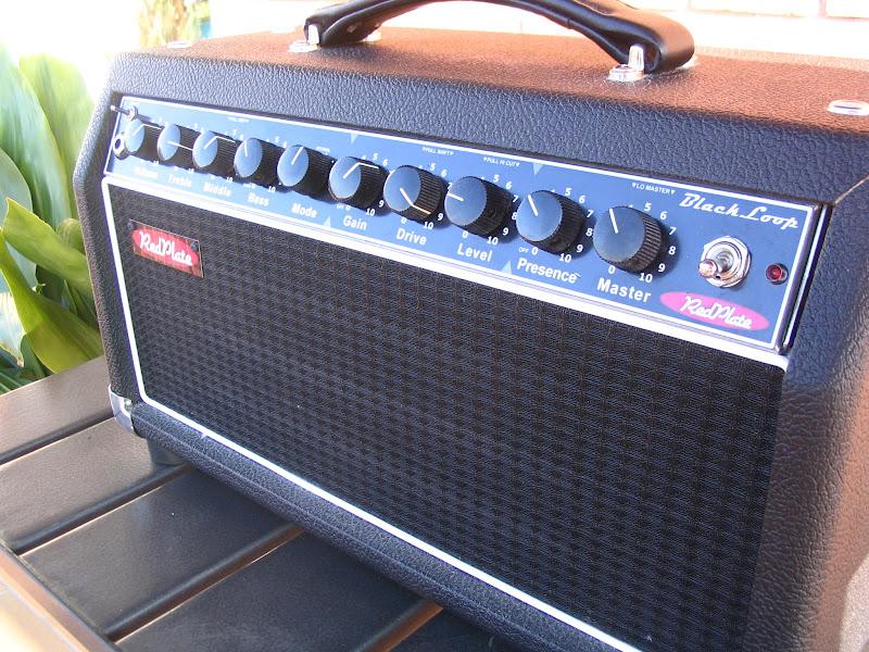 FS: Redplate Blackloop head (Fender Blackface / Tweed