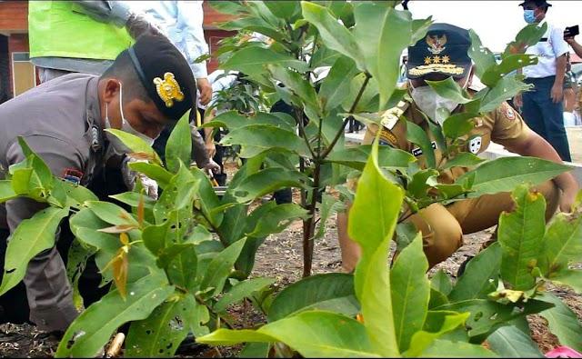 Gubernur Sugianto Dorong Galakkan Pekarangan Pangan Lestari