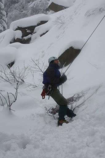 Ijsklimmen Harz Jan 2010