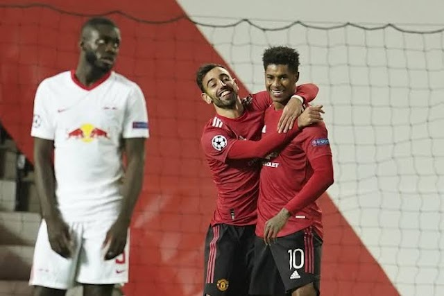 Man United Run Riots As They Scramble Leipzig 5-0 At Old Trafford