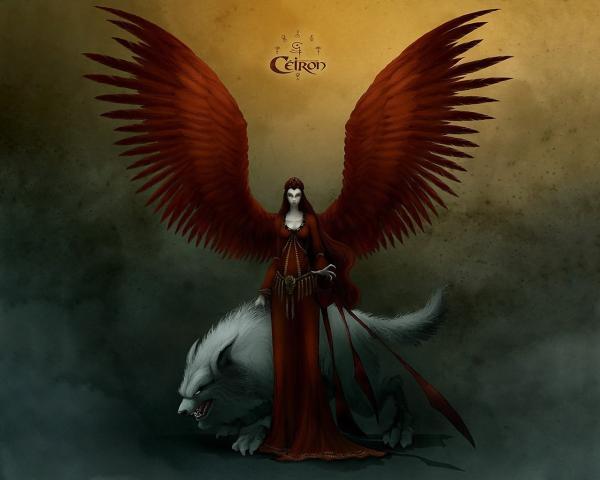 Marvelous Angel, Gothic Angels