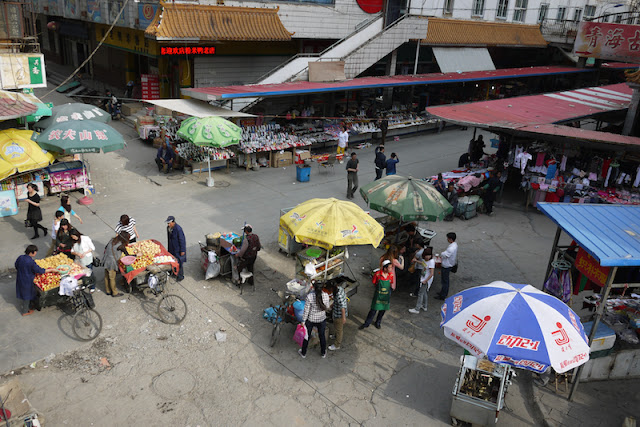 street market in Xining, China
