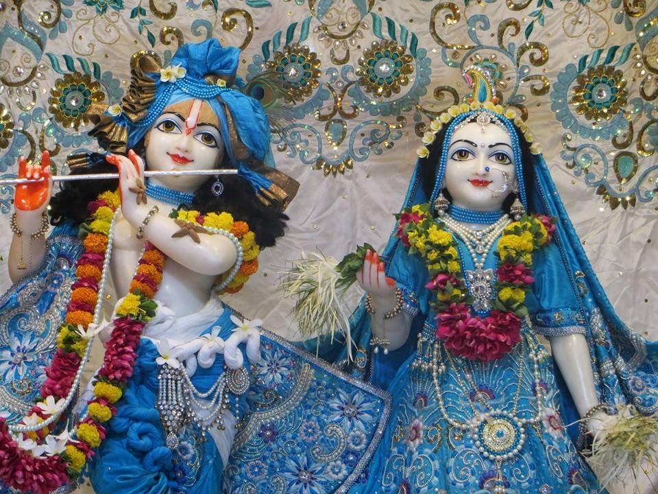 ISKCON Aravade Deity Darshan 16 May 2016 (1)