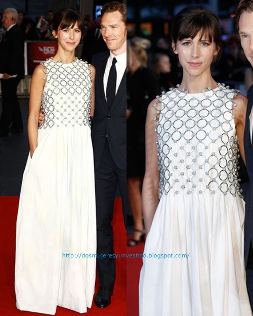 Sophie Hunter Black Mass Virgin Atlantic Gala