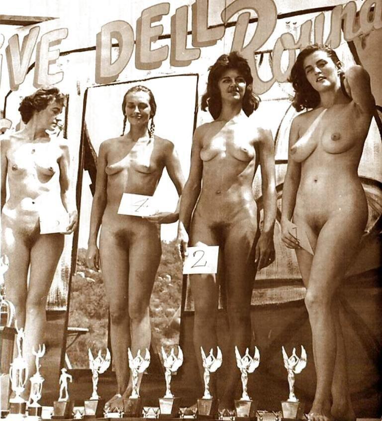 Vintage nude contest