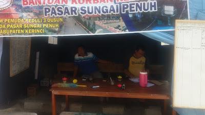 Posko Forum Pemuda 3 Dusun Tidak Pernah Dikunjungi Walikota Sungai Penuh.