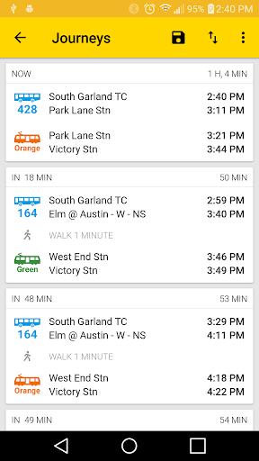 ezRide Dallas (DART Transit)  screenshots 7
