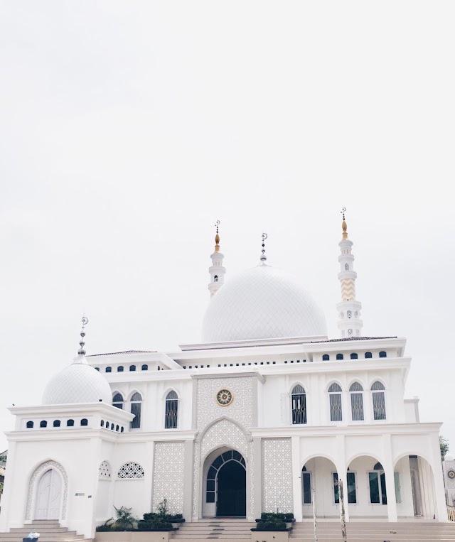 Pelaksanaan shalat idul fitri di Masjid Taqwa Muhammadiyah kota Lhokseumawe Terapkan prokes ketat