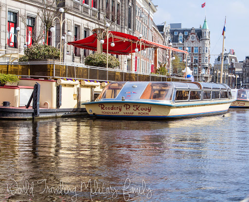 Amsterdam, Netherlands - Canal boat tour