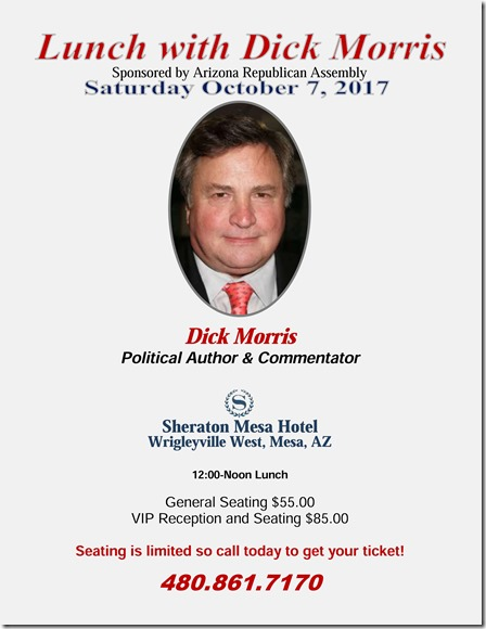 Lunch with Dick Morris