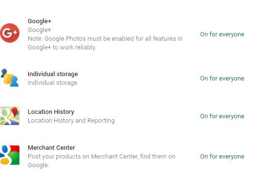 how to change accounts location on google