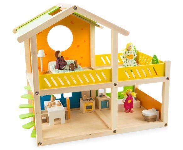Đồ chơi ngôi nhà gỗ Hape E3402A cho bé