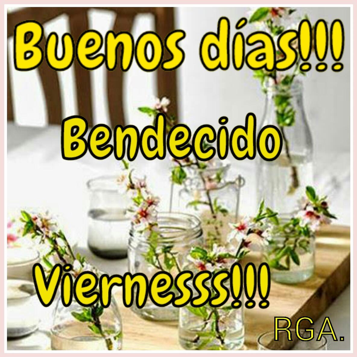 Buenos Días Viernes Bendecido y Feliz Imágenes