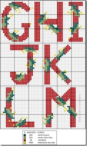 letras navidad punto de cruz (1)