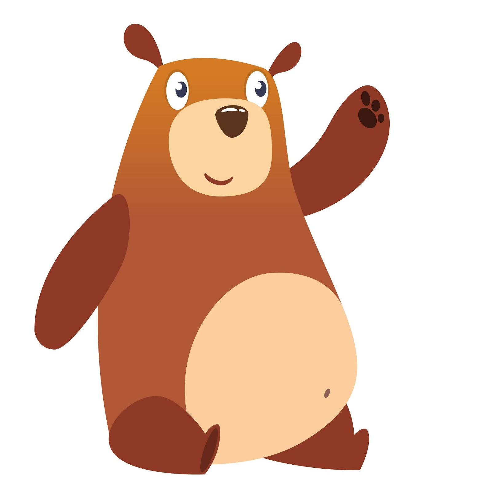 Funny Cartoon Bear Free Download Vector CDR, AI, EPS and PNG Formats