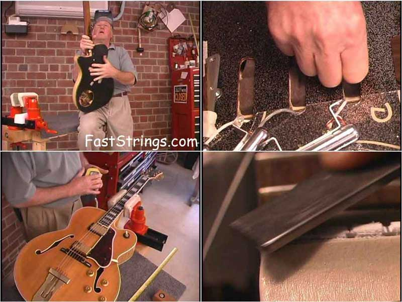 Dan Erlewine - Maintenance & Setup for Electric Guitars and Basses Vol. 2