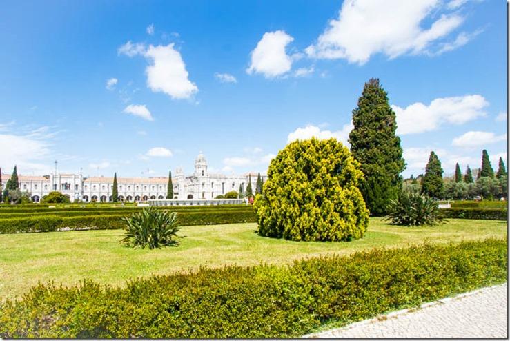 Jardines del Monasterio de los Jerónimos