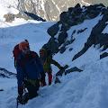 Domagoj i portugalac Joe na putu prema Aiguille du Goûter (3,863 m)