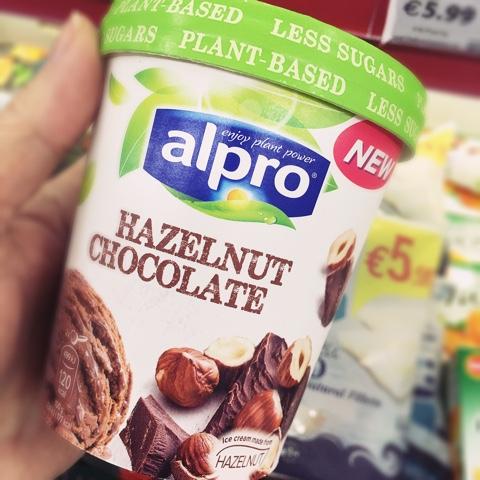 Alpro Hazelnut Chocolate Ice Cream Review
