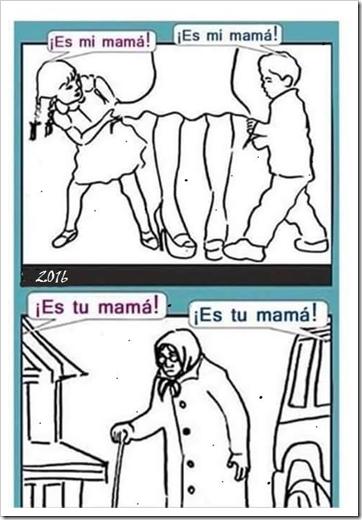 humor madre vieja