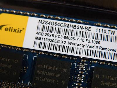 DDR3-1066(PC3-8500) 4GB SO-DIMM