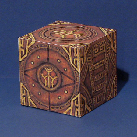 Skyrim Dwemer Puzzle Cube Papercraft