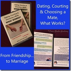 Dating, Courting & Choosing a Mate...
