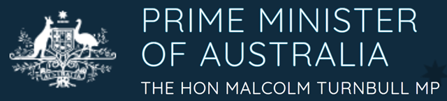 Logo of the Prime Minister of Australia. Graphic: www.pm.gov.au