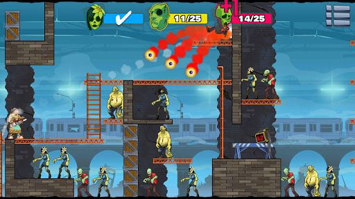 Stupid Zombies 3 hack tiền vàng cho android