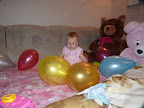 Наша принцесса...в шариках ГОД