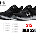 Under Armour Little Kids Assert 8 Alternate Closure Sneakers $15 (Reg $50)