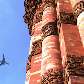qutub tower by Siddhartha Chitranshi - Buildings & Architecture Architectural Detail