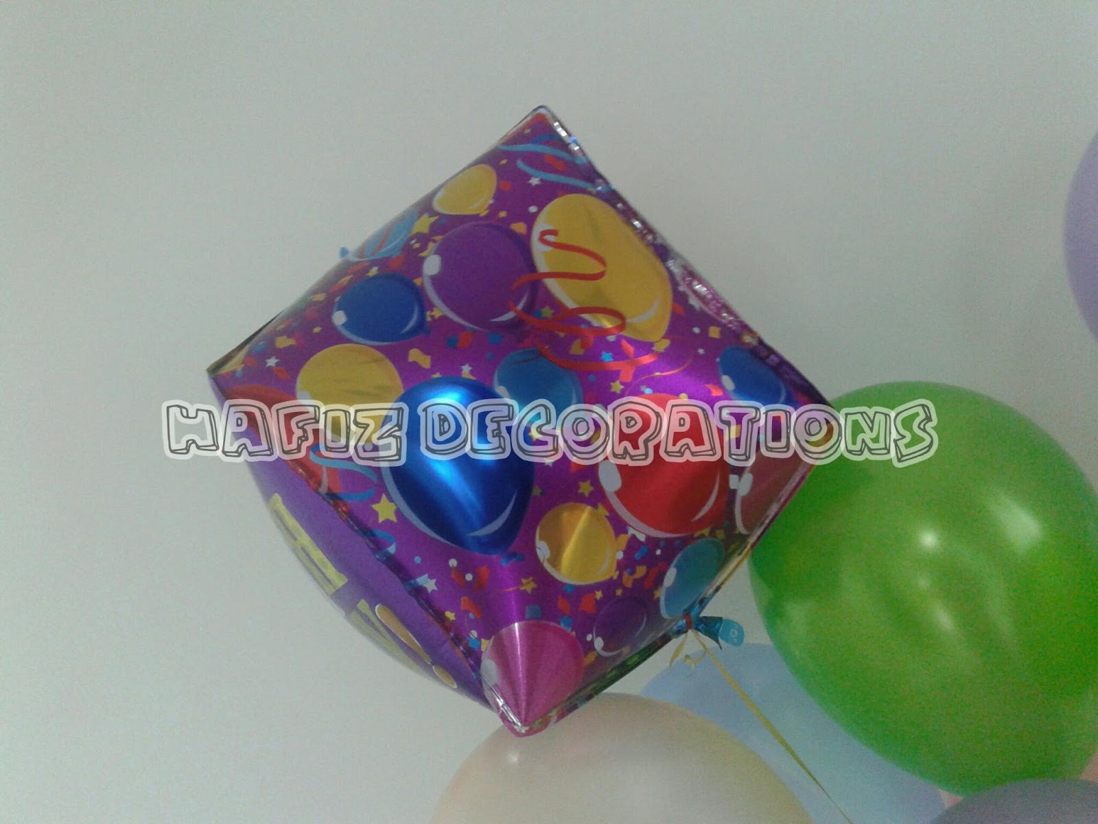 Belon murah hafiz decorations belon happy birthday cube for 15th august decoration ideas